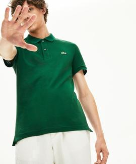 POLO LACOSTE SLIM FIT 132 VERDE