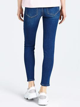 MARILYN SKINNY FIT LOW WAIST SOFT BLUE WARM TOUCH