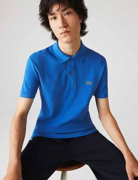 POLO LACOSTE SLIM FIT QPT AZUL